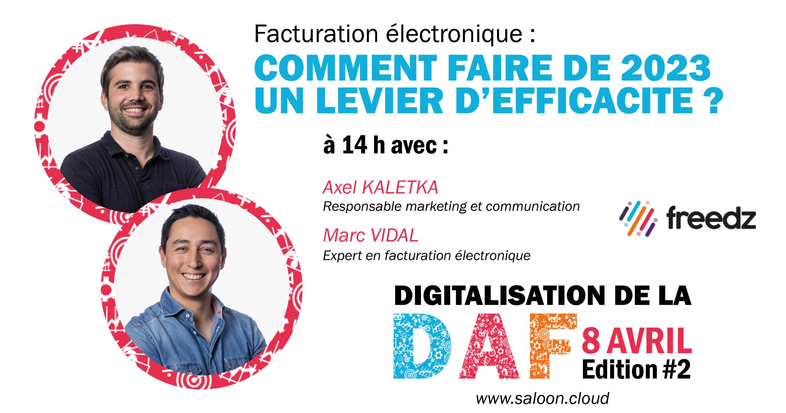 Conférence : facturation électronique : comment faire de l'obligation de 2023 un levier d'efficacité